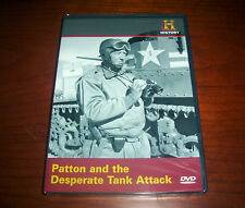 PATTON AND THE DESPERATE TANK ATTACK Armor 3rd Army WWII History Channel DVD NEW