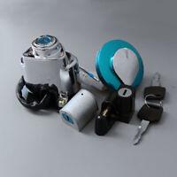 Ignition Switch Lock Fuel Gas Cap Key Set FitFor Honda Shadow VLX VT 400 600 750