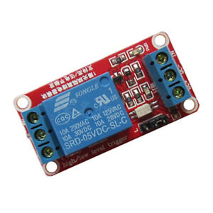 1Pc 5V 9V 12V 1 Channel Relay Module With High Low Level Trigger For Arduino