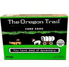 The Oregon Trail Card Game by Pressman Toy NEW Board Pioneer Target Exclusive