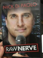 Nick Di Paolo - Raw Nerve region 1 DVD (stand up comedy)