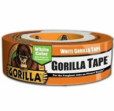 30 YD Gorilla Duct Tape 1.88in X 90ft White Heavy Duty Tape Builder Contractor