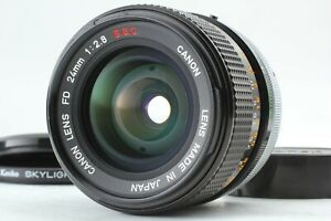[Near MINT+] Canon FD 24mm f/2.8 S.S.C SSC Wide Angle MF Lens from Japan #1061