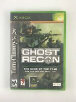 Tom Clancy's Ghost Recon - Original Xbox Game - Complete & Tested