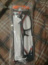 Foster Grant Ironman Men's Reading Glasses Red Black +2.50 New!