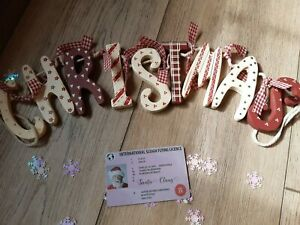 SANTA FLYING LICENCE DRIVING LICENCE PLASIC CARD IDEAL FOR CHRISTMAS EVE