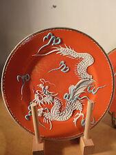 Porcelaine Ancienne Rare série de 5 assiettes Hue Impériale Asie Vietnam 1810