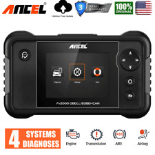 Ancel FX2000 Automotive OBD2 Scanner Transmission ABS SRS SRS Engine Code Reader
