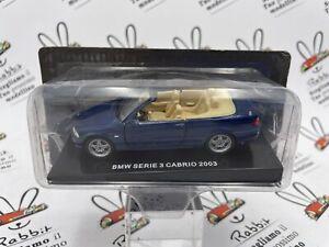 "Die Cast "" BMW Serie 3 Cabrio 2003 "" Spider & Cabrio 1/43"
