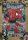 Todd McFarlane Spider-Man #1 Silver Variant Screen Print Poster LE 90