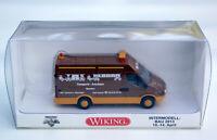 """Wiking IVECO Daily III Kastenwagen Sondermod. Intermodellbau 2013 """"TAS Alborn"""""""
