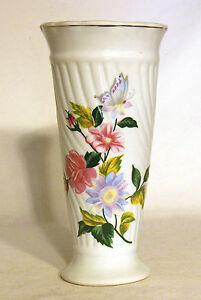 Vintage Ornate Tall Floral Vase