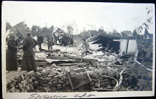 SAN FRANCISCO CA ~1906 EARTHQUAKE ~ House Wrecked ~ Ladies~ Real Photo PC  RPPC