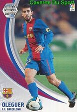 058 OLEGUER ESPANA FC.BARCELONA AJAX TARJETA CARD MEGA CRACKS LIGA 2008 PANINI