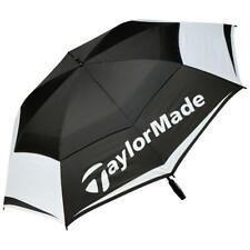 "TaylorMade Golf Tour Double Canopy 64"" Umbrella (Black/White/Grey)"