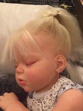 Arianna Asleep/Awake Custom Order Reborn Toddler