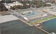 Mississippi postcard Biloxi, the Buena Beach Hotel and Motel