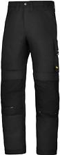 6301 COMPLETO, de trabajo, Negro Moderno Pantalón de trabajo