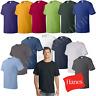 Hanes Comfortsoft Men Crewneck Short Sleeves Plain Cotton T-Shirt O5280 (4-pack)