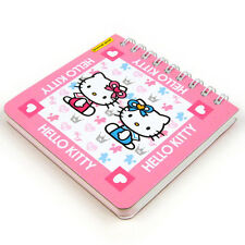 Sanrio Hello Kitty Note Memo Pad #3 Notepad Pink Stationery Cute Kawaii