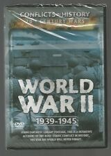 WORLD WAR II 1939-1945 - Conflicts In History - 150 mins - UK DVD - sealed/new