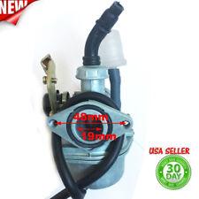 Carburetor PZ19 Carb 50 70cc 90 100 110 125cc ATV sunl NST Chinese Cable choke