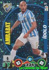 424 AMRABAT MOROCCO MALAGA.CF IDOLO PSV Eindhoven CARD ADRENALYN 2015 PANINI