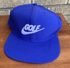 Vintage Nike Golf Mens Swoosh Snapback Hat