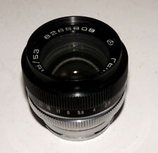 USSR Gelios-103 Helios-103 1.8/50 Contax RF lens Carl Zeiss Sonnar copy 9 blades