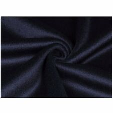 Wool Cashmere Blend Fabric Cloth for Clothes Jacket Coat By Meter Navy Blue New