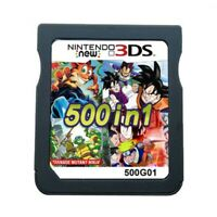 500 in 1 Game Games Cartridge Multicart For Nintendo DS NDS NDSL NDSi-2DS 3DS