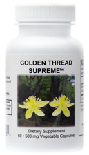 Supreme Nutrition Golden Thread Supreme, 60 Pure 500mg Coptis Chinensis Capsules