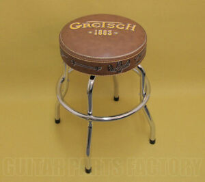 912-4756-020 Gretsch Since 1883 Guitar or Bass Swivel Barstool 24 inch