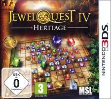 Jewel Quest Mysteries 4 - Patrimonio NINTENDO 3ds NUEVO Y EMB. orig.