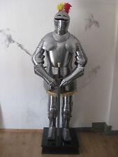 Ritterrüstung Prunkrüstung mit eingravierten Ornamenten 1,6mm Rüstung Höhe198cm