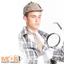 Detective Magnifying Glass Sherlock Holmes Fancy Dress Costume Accessory NEW