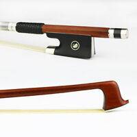 Special offer! NEW 4/4 Size Advanced Pernambuco Violin Bow Natural Horsehair