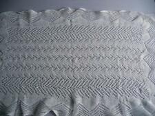 "Stunning Vintage Fine Crocheted Lace Table Mat, Table Topper GC  21"" x 32"""