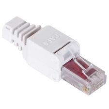 10 x Netzwerk Stecker werkzeuglos RJ45 Cat 5e  6  7 UTP LAN Kabel ohne Werkzeug