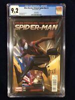 CGC 9.2 Miles Morales Ultimate Spiderman # 1 1:50 Fiona Staples Variant NM