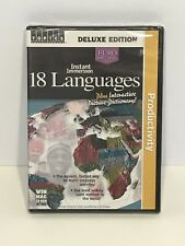 Instant Immersion 18 Languages Deluxe Edition (CD-ROM, 2003, 3 Discs) FREE S&H