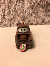 Disney Pixar Cars Brown Tow Mater Truck Talks Works