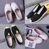Unisex Women Men Vintage Casual Lazy Sneakers Shoes Boat Flat Breathable Shoes