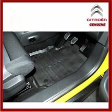 Genuine Citroen C4 Cactus Rubber Floor Mats Set of 4. New 1611077280