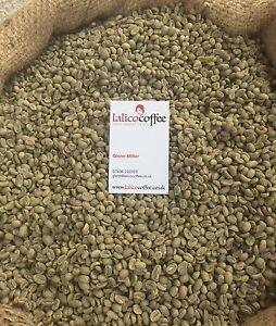 ETHIOPIA YIRGACHEFFE Gr1 Green/Raw 100% Arabica Coffee Beans For Home Roasting