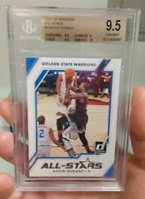 2017-18 Donruss All Stars Kevin Durant BGS 9.5 Surface Perfect 10