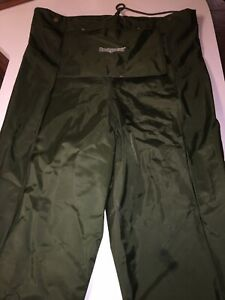 Hodgman Green Poly Vinyl Chloride PVC Stockingfoot Waders Mens Medium