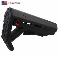 Collapsible Stock Buttstock w/ QD Sling Mounts Mil-Spec Collapsible 5.56/223 New