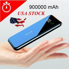 Qi Wireless Power Bank 950000mAh Backup Portable Charger External Battery Backup
