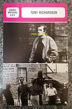 British Theatre Film Director & Producer Tony Richardson French Film Trade Card
